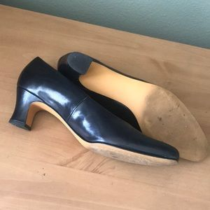 Ros Hommerson Shoes - Ros Rommerson Black Leather Heels